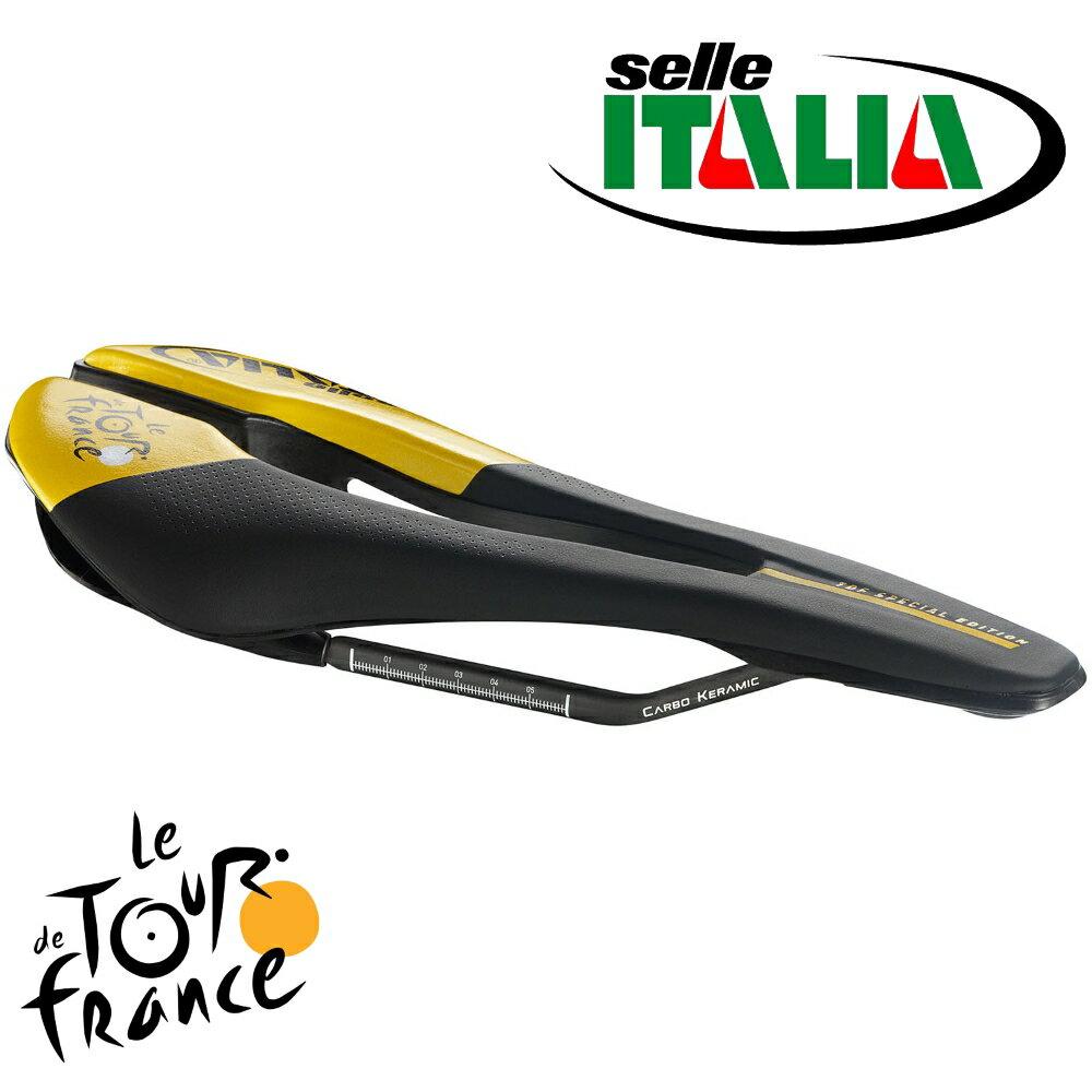 Selle ITALIA(セライタリア) 2018年ツール・ド・フランスモデル SP-01 KitCarbonio SuperFlow(SP01 キットカルボニオ スーパーフロー) 限定モデル