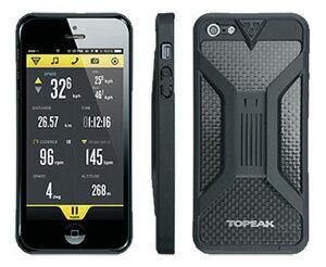 トピーク ライドケース (iPhone 5/5S/SE用) 単体 【ブラック】 TOPEAK RideCase (for iPhone 5/5S/SE) 自転車 ハンディフォンバッグ【パーツ総額8,640円以上送料無料】