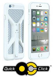 トピーク ライドケース (iPhone 6/6S 用) 単体 【ホワイト】 TOPEAK RideCase (for iPhone 6/6S) 自転車 ハンディフォンバッグ【パーツ総額8,640円以上送料無料】