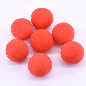マジック道具 赤い 4.5cmスポンジボール 手品道具 50個一セット 大量