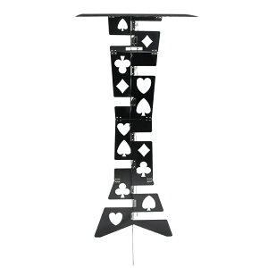 「送料無料!折り畳み式マジックデスク(Aluminumアルミニウム製 黒色バージョン)」手品用品 手品 グッズ マジック グッズ
