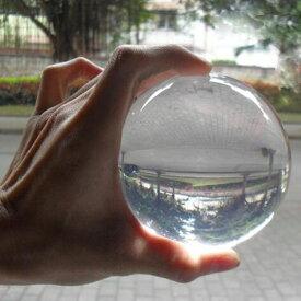 「アクリル水晶ボール(90mmバージョン)」手品道具 マジックボール  手品 グッズ マジック グッズ