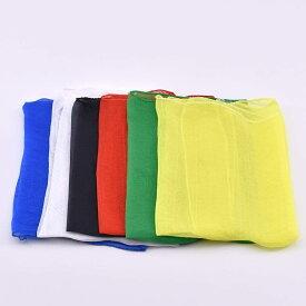 「色変わるシルク(六枚セット 色はランダム)」手品用品 マジック道具