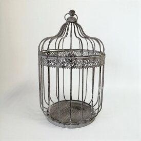 シャビーバードケージ MT-7085 プランツケージ バードケージ 鳥かご 置物 飾り オブジェ オーナメント ガーデニング雑貨 ガーデン雑貨 インテリア雑貨 ナチュラル アンティーク かわいい おしゃれ ポイント消化 CAGEE