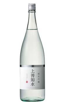 白瀧 純米吟醸 上善如水 1.8L【取寄せ】【日本酒/清酒】【1800ml/一升瓶】【新潟】じょうぜんみずのごとし【お年賀】