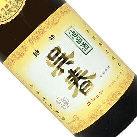 呉春 特吟(吟醸酒)1.8L【日本酒/清酒】【1800ml/一升瓶】【大阪】ごしゅん