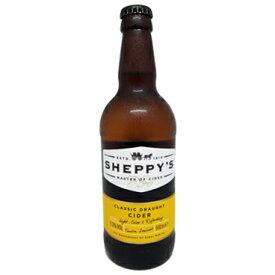 SHEPPY'S サイダー(シードル)クラシック・ドラフト 500ml瓶 【包装のし非対応】】【輸入/イギリス】【りんご/リンゴ酒/アップル】【サイダー/シードル】シェッピーズ