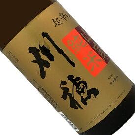 刈穂 山廃純米 超辛口 1.8L【取寄せ】【太】【日本酒/清酒/特別純米】【1800ml/一升瓶】【秋田/刈穂酒造】かりほ