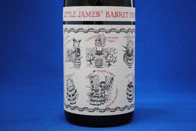 サンコム リトル・ジェームズ・バスケット・プレス・レッド 750ml【クール推奨】【フランス】【赤ワイン/フルボディ】【VDT】【スクリューキャップ】SAINT COSME LITTLE JAMES'BASKET PRESS RED【父の日】