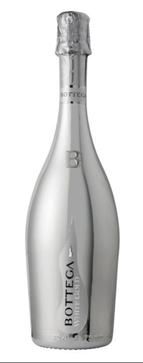 ボッテガ ホワイト・ゴールド 750ml【イタリア/ロンバルディア】【スパークリングワイン/白/辛口/ピノ・ネロ】BOTTEGA WHITE GOLD【御歳暮】