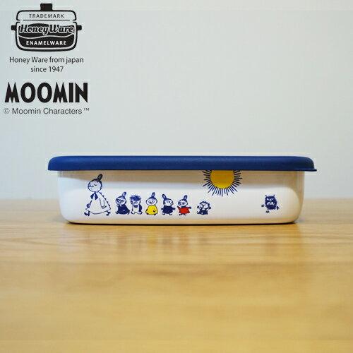 ムーミン グッズ 浅型角容器M MT-M