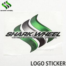 シャークウィール ロゴステッカー 【SHARK WHEEL LOGO STICKER】 スケートボード シール カスタム SKATEBOARD STICKER サイズ:約13.7cm x 10.0cm