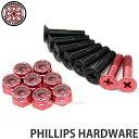インディペンデント フィリップス ハードウェア 【INDEPENDENT PHILLIPS HARDWARE】 スケートボード スケボー ボルト …