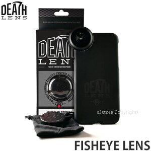 デスレンズ フィッシュアイレンズ 【DEATH LENS FISHEYE LENS】 スマホ ケース 魚眼 撮影 動画 携帯 スケートボード インスタ ツイッター SNS SKATEBOARD サイズ:iPhone XS MAX