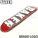 ベイカー ブランド ロゴ 【BAKER BRAND LOGO】 スケートボード スケボー デッキ 板 チーム ストリート パーク 初心者 …
