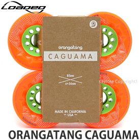 ローデッド オランガタン カグアマ 【LOADED ORANGATANG CAGUAMA】 スケートボード スケボー ウィール ソフト ロングボード クルージング 高速 SKATEBOARD カラー:Orange サイズ:85mm/80A