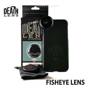 デスレンズ フィッシュアイ レンズ 【DEATH LENS FISHEYE LENS】 スマホ ケース 広角 撮影 動画 携帯 アクセサリー スケートボード スケボー 対応:iPhone XS