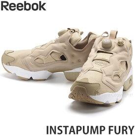 リーボック インスタポンプ フューリー 【Reebok INSTAPUMP FURY】 スニーカー メンズ 靴 シューズ カジュアル デザイン MENS カラー:UTILITY BEIGE/WHITE