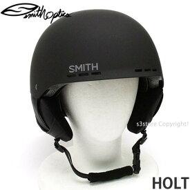 スミス ホルト 【SMITH HOLT】 スノーボード スケート 自転車 BMX ヘルメット プロテクター メンズ SNOWBOARD SKATE HELMET MENS カラー:MATTE BLACK