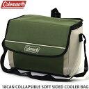 コールマン 18缶 コラッシブル ソフト サイド クーラー バッグ 【COLEMAN 18CAN COLLAPSIBLE SOFT SIDED COOLER BAG】…