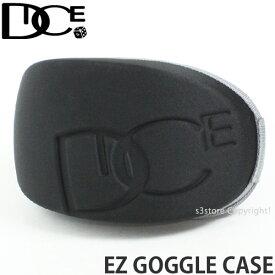 ダイス イージー ゴーグル ケース 【DICE EZ GOGGLE CASE】 スノーボード ハード シングル SNOWBOARD カラー:BLACK