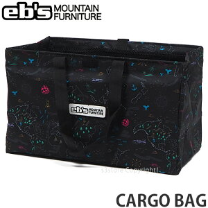エビス カーゴ バッグ ebs CARGO BAG スノボ ボード ブーツ キャリー かばん 持ち運び 旅行 SNOW BOARD カラー:DELA MAP サイズ:59L