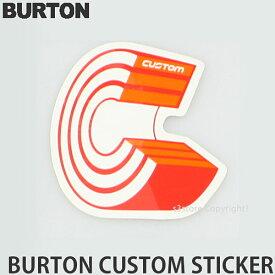 バートン カスタム ステッカー 【BURTON Custom Sticker】 シール スノーボード