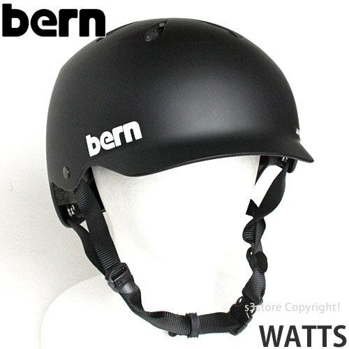 バーン ワッツ オールシーズン ジャパンフィット 【BERN WATTS ALL SEASON JAPANFIT】 国内正規品 ヘルメット オールラウンド 自転車 MTB BMX スケートボード スノーボード カラー:Matte Black
