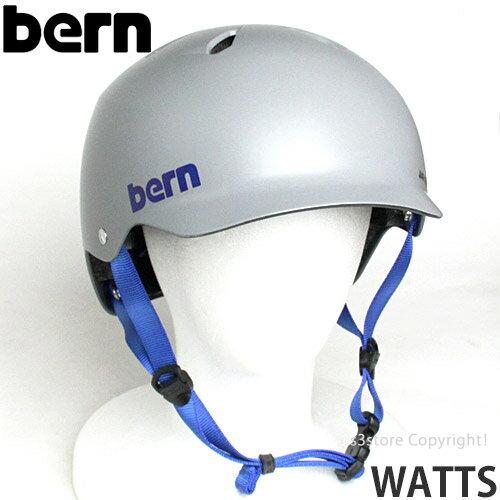 バーン ワッツ オールシーズン ジャパンフィット 【BERN WATTS ALL SEASON JAPANFIT】 国内正規品 ヘルメット オールラウンド 自転車 MTB BMX スケートボード スノーボード カラー:Satin Grey