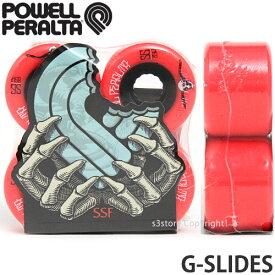 パウエル ジースライド 【POWELL G-SLIDES】 スケートボード SKATEBOARD ウィール ソフト コア クルージング オールラウンド フィルマー カラー:Red