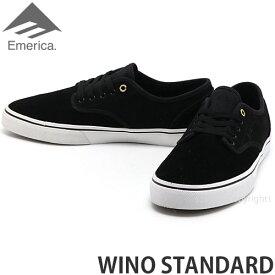 エメリカ EMERICA ワイノ スタンダード WINO STANDARD スニーカー シューズ メンズ スケートボード スケボー スケシュー SKATEBOARD BLACK/WHITE/GOLD