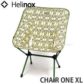 ヘリノックス HELINOX チェア ワン XL CHAIR ONE XL アウトドア イス 椅子 折り畳み ポータブル フェス キャンプ BBQ OUTDOOR カラー:TRIANGLE GREEN サイズ:H89xW59xD68cm