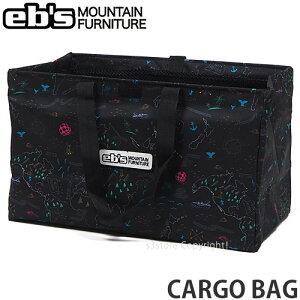 エビス ebs カーゴ バッグ CARGO BAG スノボ ボード ブーツ キャリー かばん 持ち運び 旅行 SNOW BOARD カラー:DELA MAP サイズ:59L