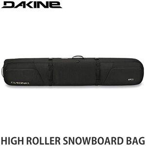 21-22 ダカイン DAKINE ハイ ローラー スノーボード バッグ HIGH ROLLER SNOWBOARD BAG スノーボード スノボ キャリーバッグ ケース 収納 持ち運び 旅行 ギアバッグ 2022 カラー:Black サイズ:165cm