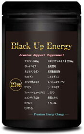 Black Up Energy ノコギリヤシ ケラチン サプリメント 厳選19素材 30日分