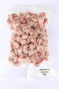 国産冷凍マウス ピンクS 180g SAfarm (未選別 約100匹)