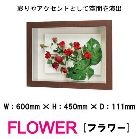 壁掛けインテリアパネル オブジェ 花 フラワー 造花 FLOWER IN3138 モンステラ&ローズ 彩りやアクセントとして空間を演出