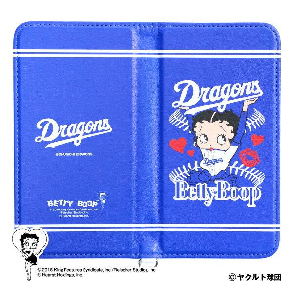 中日ドラゴンズ公認グッズBETTY BOOP™×ドラゴンズ マルチスマホケース dragons/ベティー ブープ™/かわいい