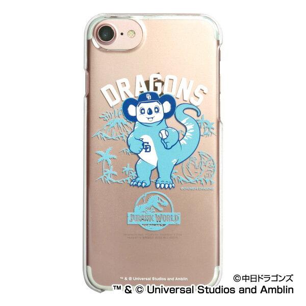 中日ドラゴンズ公認グッズJURASSIC WORLD×ドラゴンズ iPhoneクリアケース dragons/ジュラシック・ワールド/恐竜/おすすめ