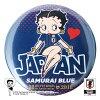 BASEBALLGOODSSHOPイチオシ商品!BETTYBOOP™×サッカー日本代表ver.缶バッジ
