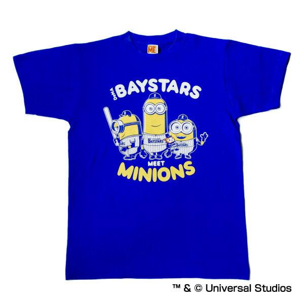 横浜DeNAベイスターズ公認グッズミニオン×ベイスターズ Tシャツ(大人用) /横浜DeNA/ベイスターズ/Baystars/MINIONS/かわいい