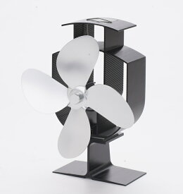 Broptical 電源不要! エコ ストーブファン 4ブレード ストーブの上に置いて空気を循環 エコファン 省エネ ゼーベック効果 Seebeck effect