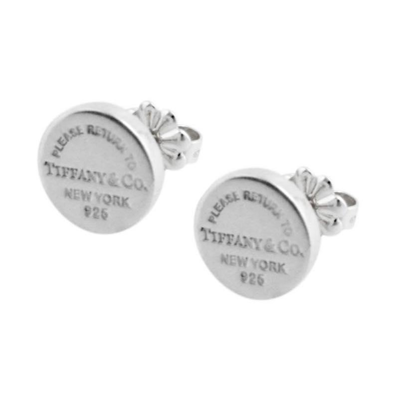ティファニー Tiffany & Co. / RTT リターン トゥ サークル スタッド SS ピアス #35236104【10/22 FCバルセロナ勝利でP2倍】