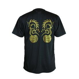 バスケ Tシャツ メンズ 「バスケドラゴン」 半袖 練習着 (ノースアイランド) NORTHISLAND