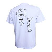 バスケットボール練習着半袖Tシャツ「ぱす&ありうーぷ」(ノースアイランド)NORTHISLAND