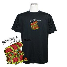 バスケ Tシャツ メンズ 「宝箱」 半袖 練習着 (ノースアイランド) NORTHISLAND