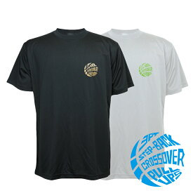 バスケ ウェア メンズ Tシャツ 左胸ワンポイントマーク 「ステップバック3PT」 半袖 練習着 (ノースアイランド) NORTHISLAND