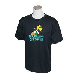バレーボール 練習着 半袖 Tシャツ 「バレーボールアイスクリーム」 (ノースアイランド) NORTHISLAND