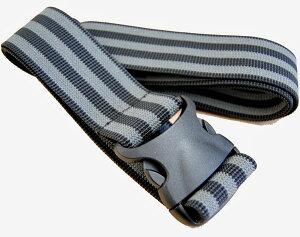 【トラベルグッズ】 gowell 伸縮スーツケースベルト 「ストレッチフィットベルトTM」 ブラック