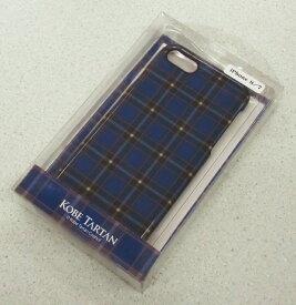 神戸タータン/KOBE TARTAN iPhone7/iPhone8ケース (「KOBE TARTAN」ロゴなしバージョン)